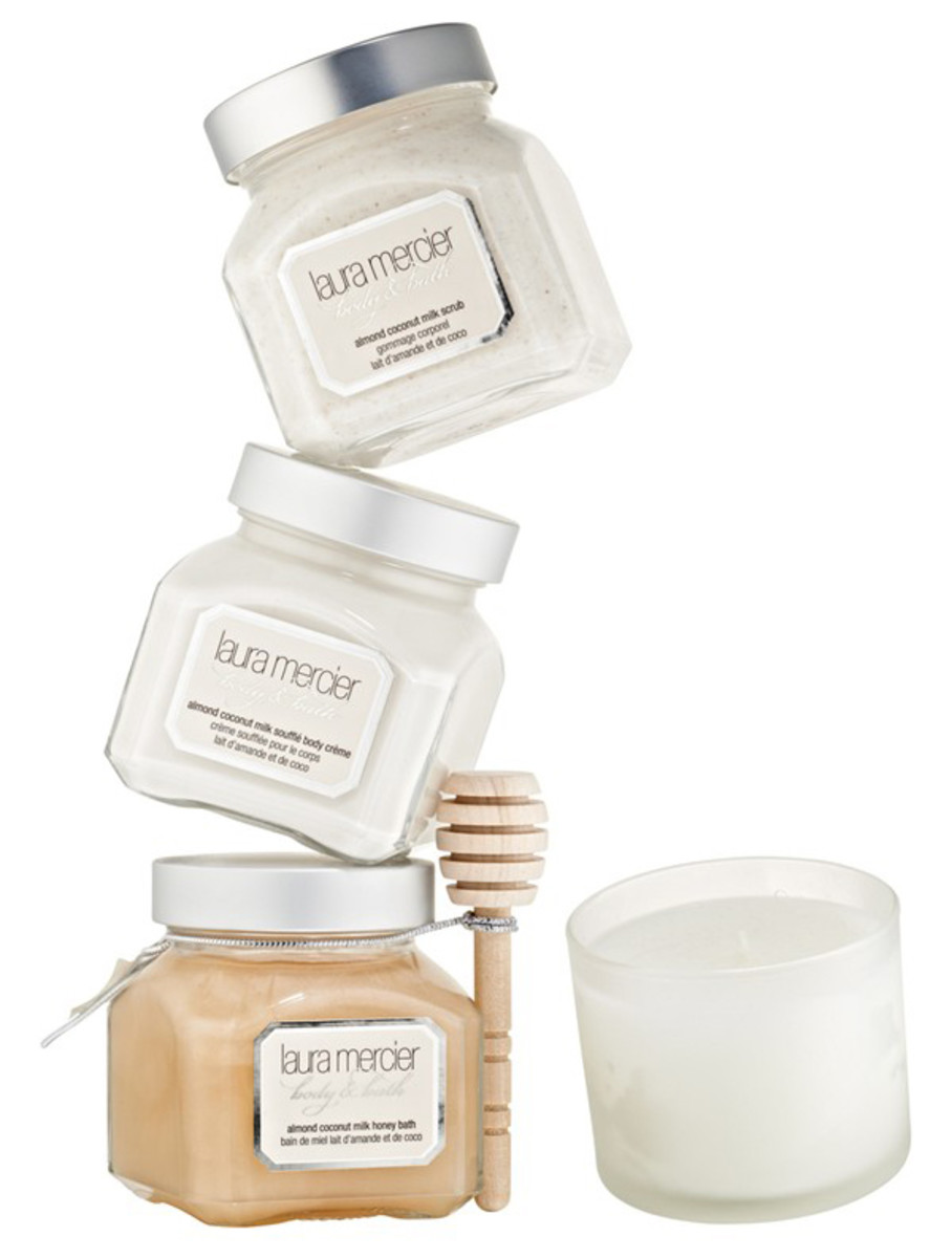 Laura Mercier Almond Coconut Milk Bath & Body Luxe Set