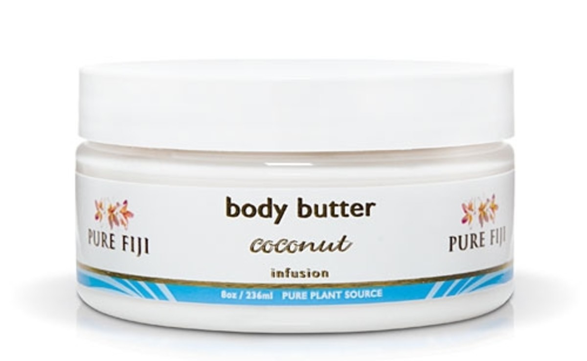 Pure Fiji Body Butter in Coconut Infusion