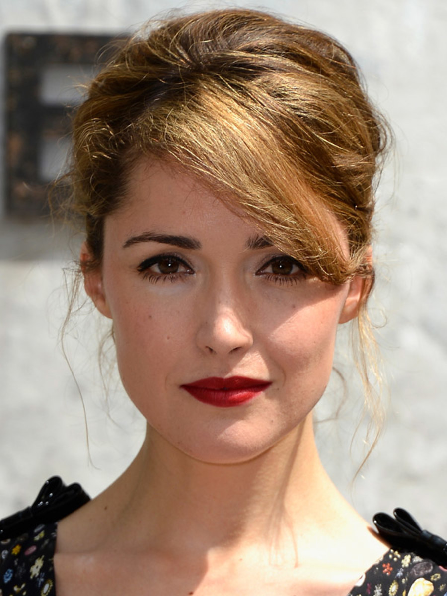 Rose Byrne - Chanel Fall 2013 Couture Show, July 2013