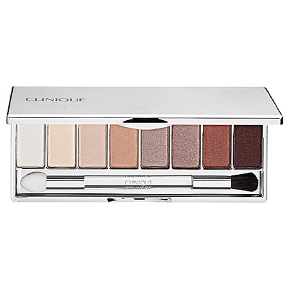 Clinique All About Shadow 8-Pan Palette Limited Edition Nudes in Neutral Territory 2