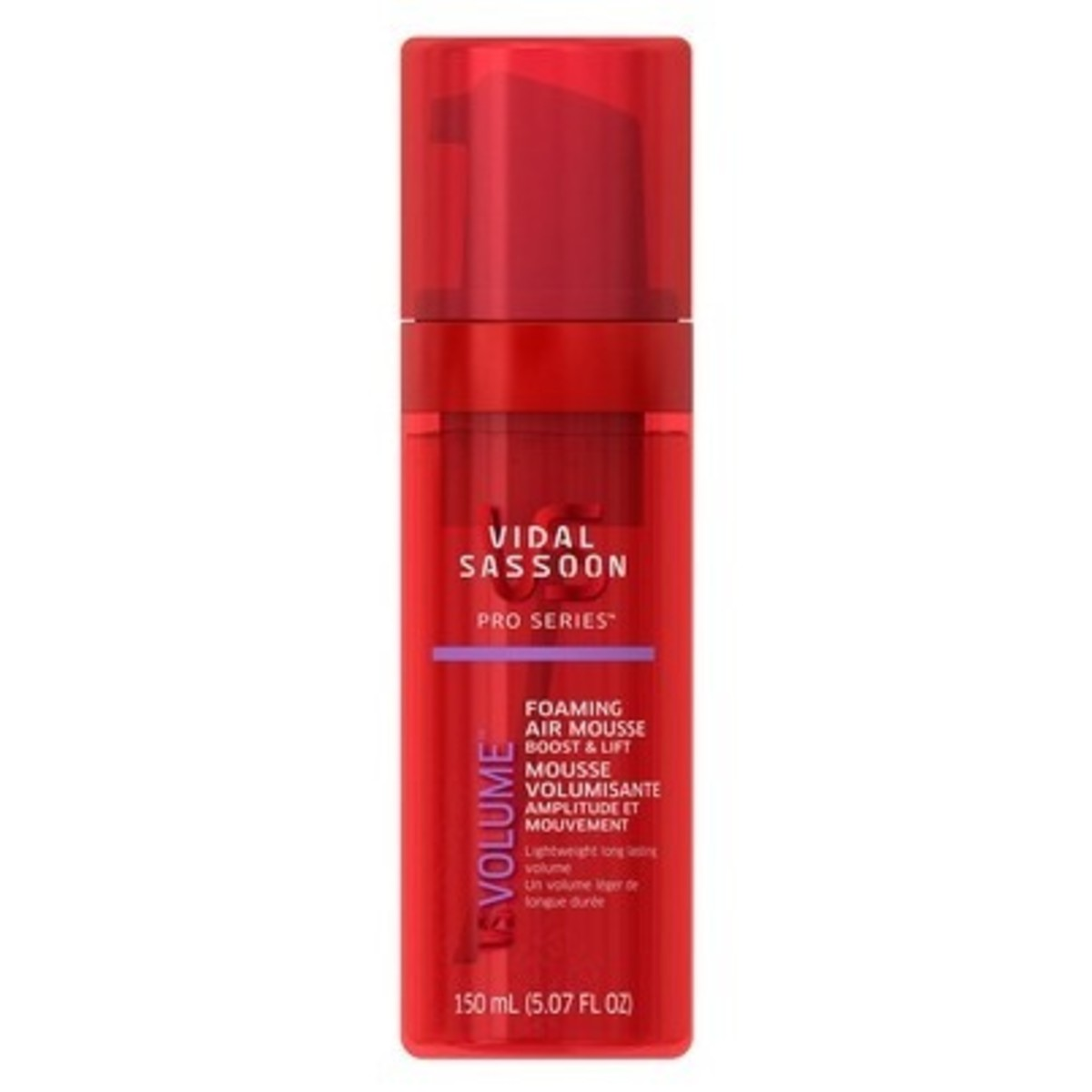 Vidal Sassoon Pro Series Boost & Lift Foaming Air Mousse
