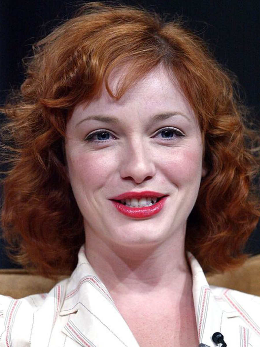 Christina Hendricks Before And After Beautyeditor