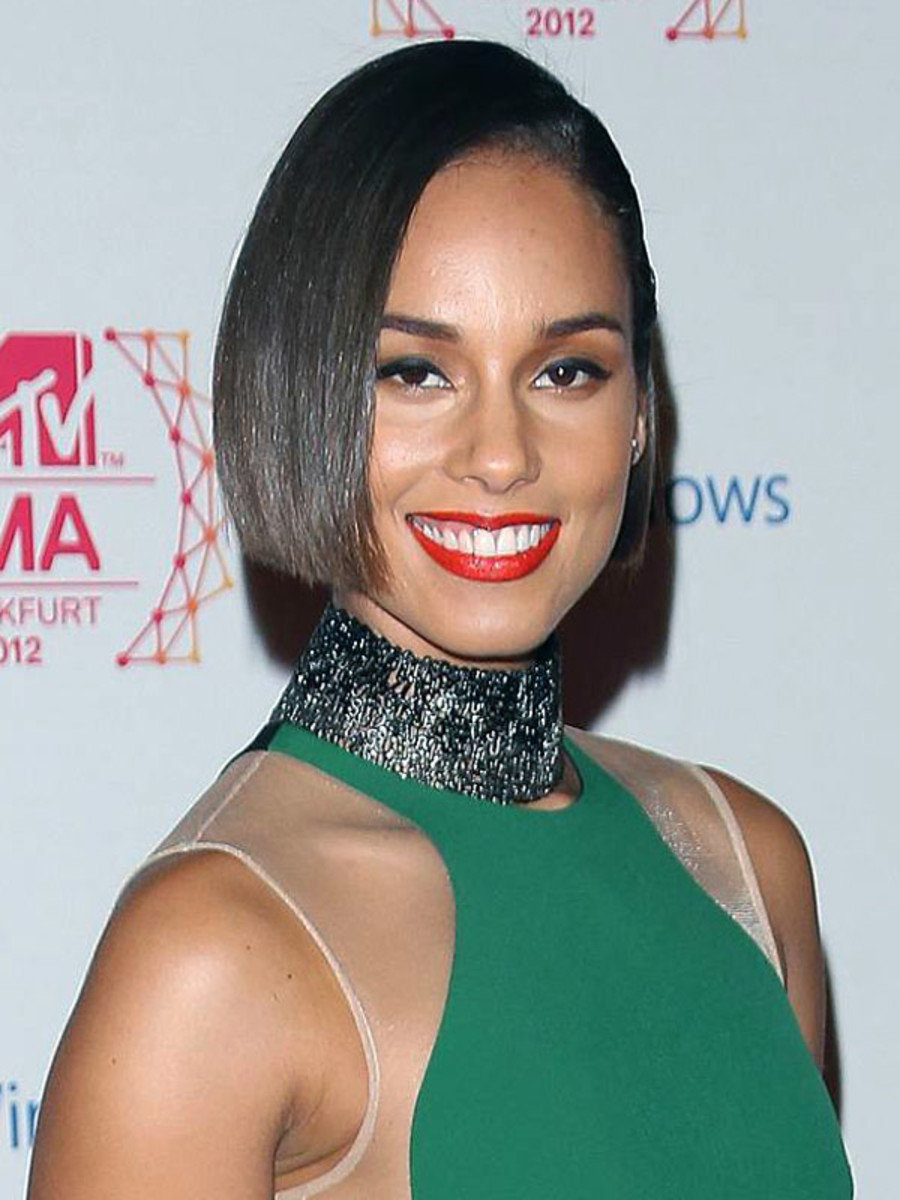 Alicia Keys - MTV Europe Music Awards 2012