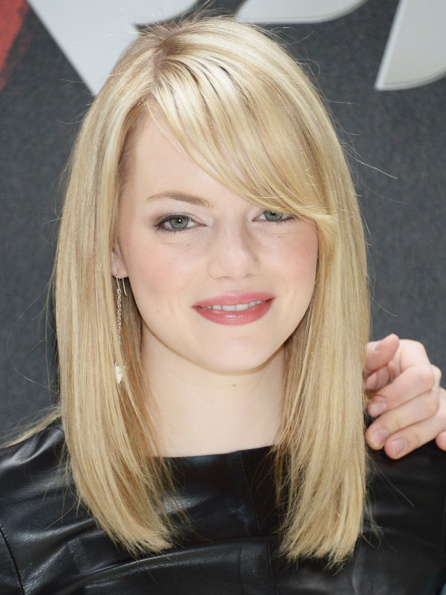 Emma Stone - The Amazing Spider-Man - NYC photocall