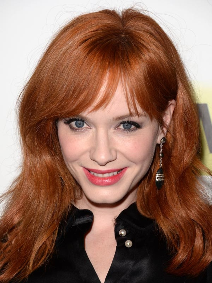 Christina Hendricks, Mad Men Season 7 premiere, 2014