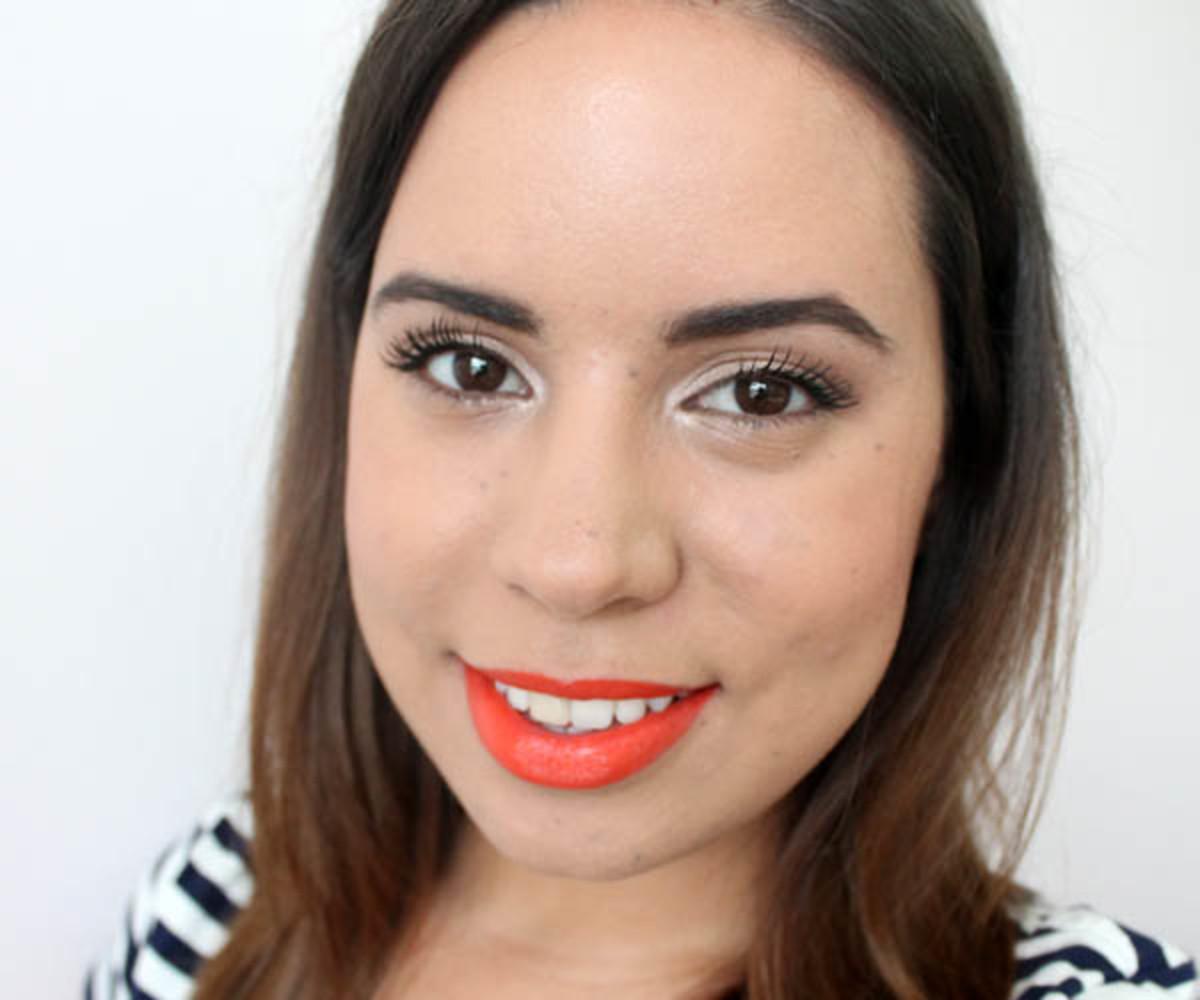 MAC Lipstick in Morange (1)