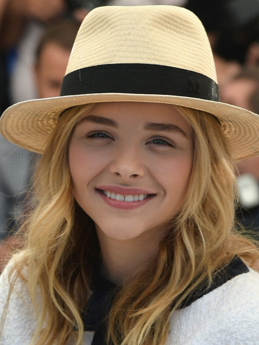 Chloe Moretz, Clouds of Sils Maria photocall, Cannes 2014