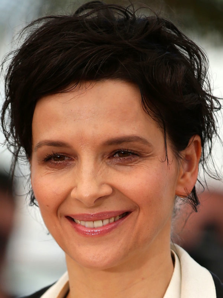 Juliette Binoche, Clouds of Sils Maria photocall, Cannes 2014