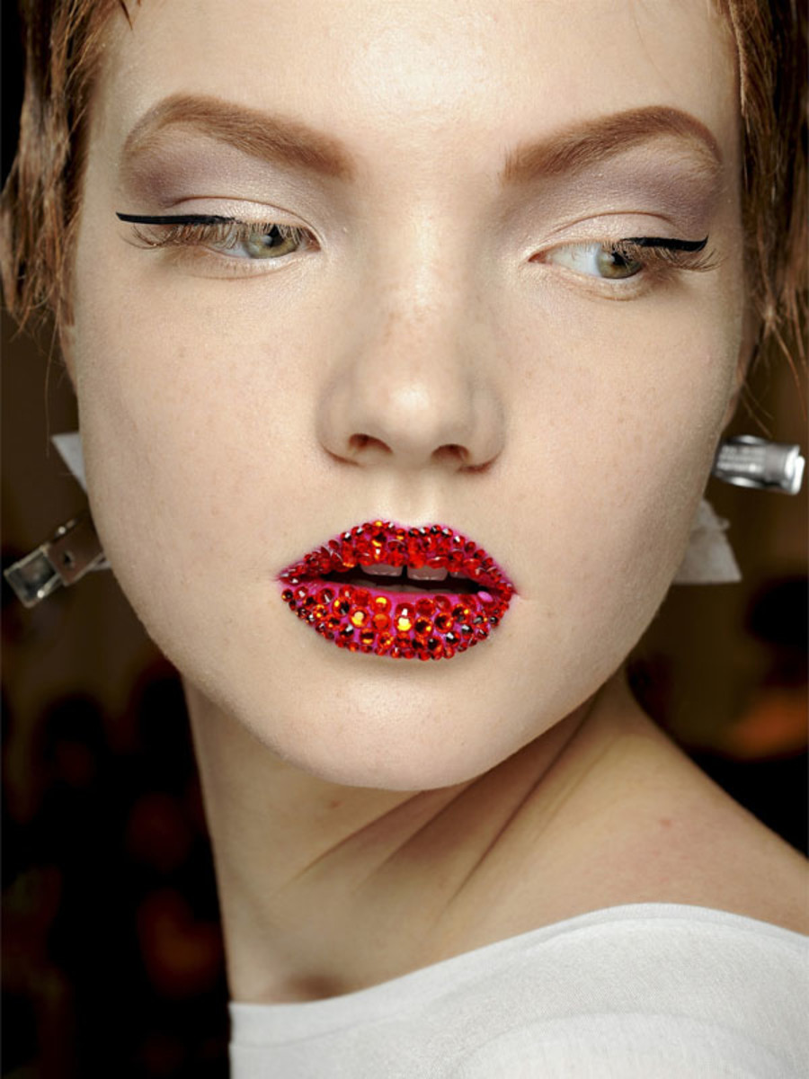 Christian Dior - Spring 2013 Couture beauty