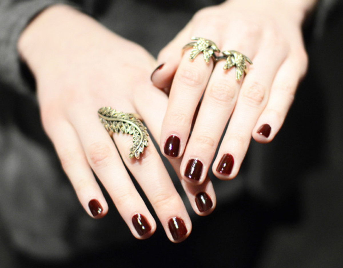 Jenny Packham - Fall 2012 nails