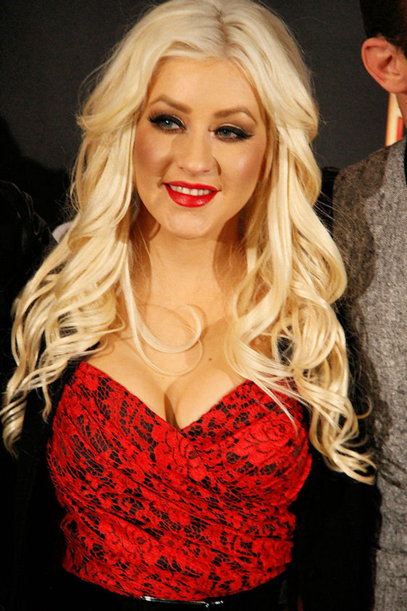 Christina Aguilera - Burlesque Madrid