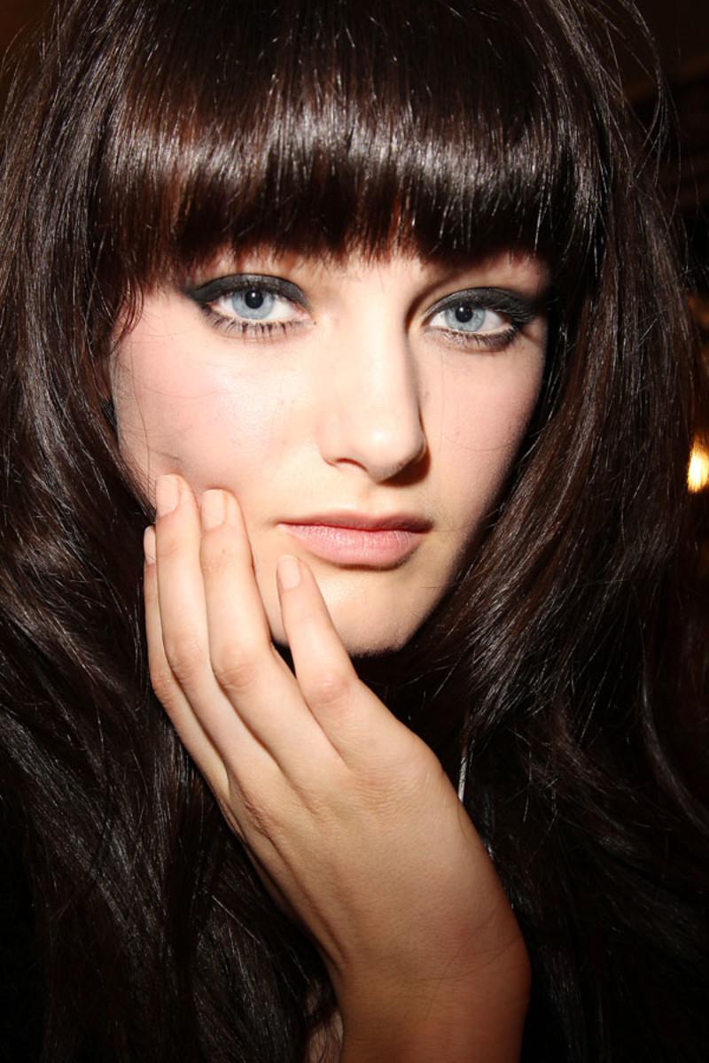 Kaufman Franco Fall 2013 makeup