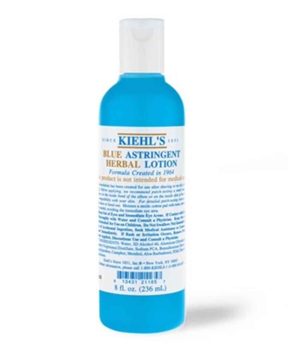 Kiehl's Blue Astringent Herbal Lotion