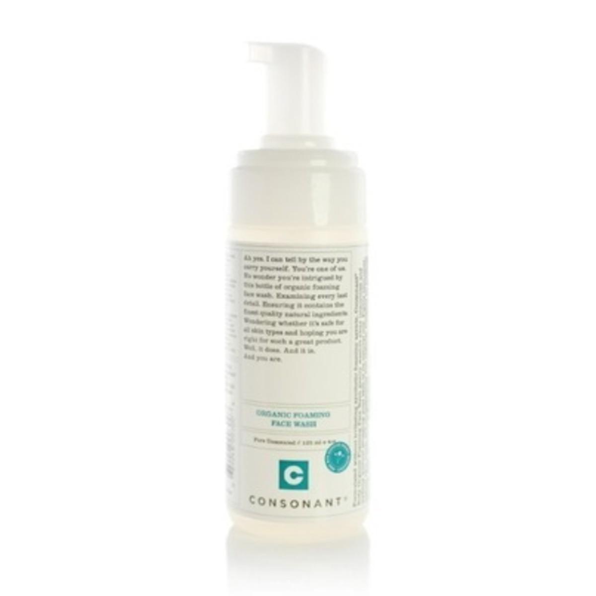 Consonant Organic Foaming Face Wash