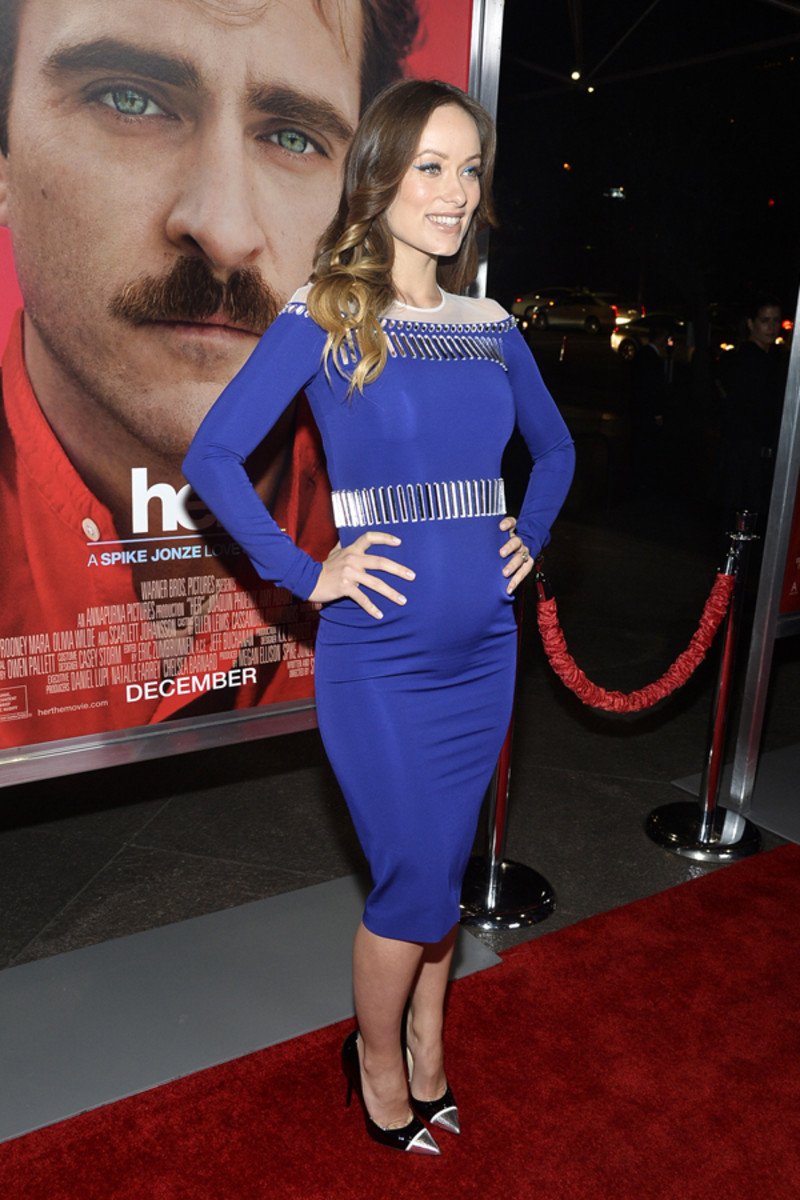 Olivia Wilde makeup, Her premiere, 2013 (4)