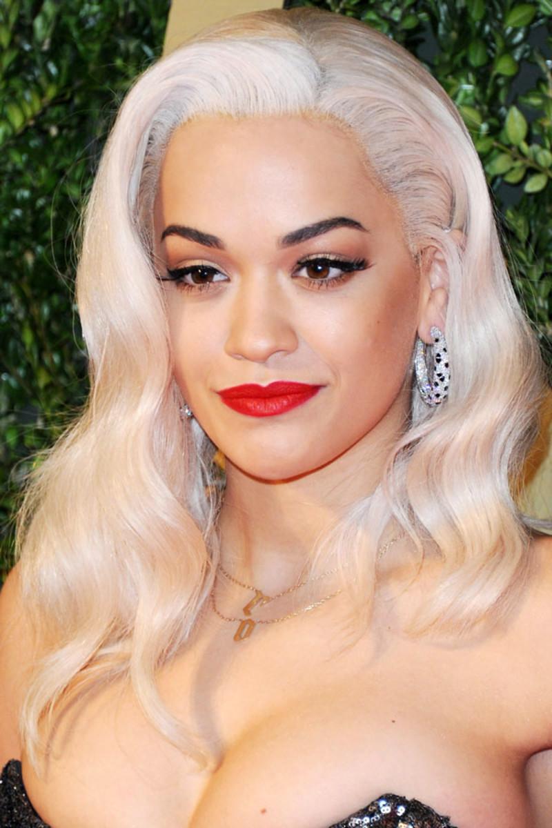 Rita Ora, British Fashion Awards, 2013