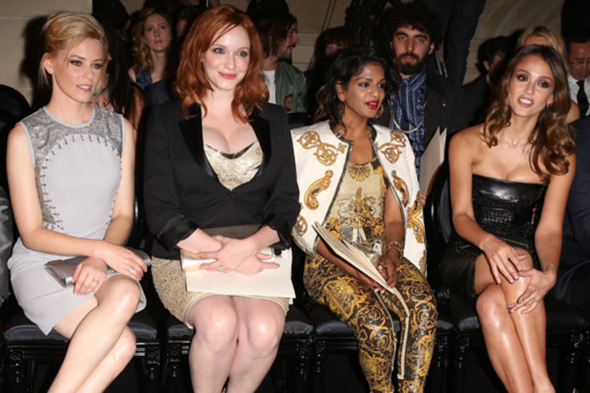 Versace Couture Show - July 2012 - front row