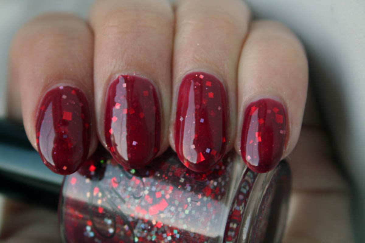 Tryst Lacquers Cheer-ocracy Big Red