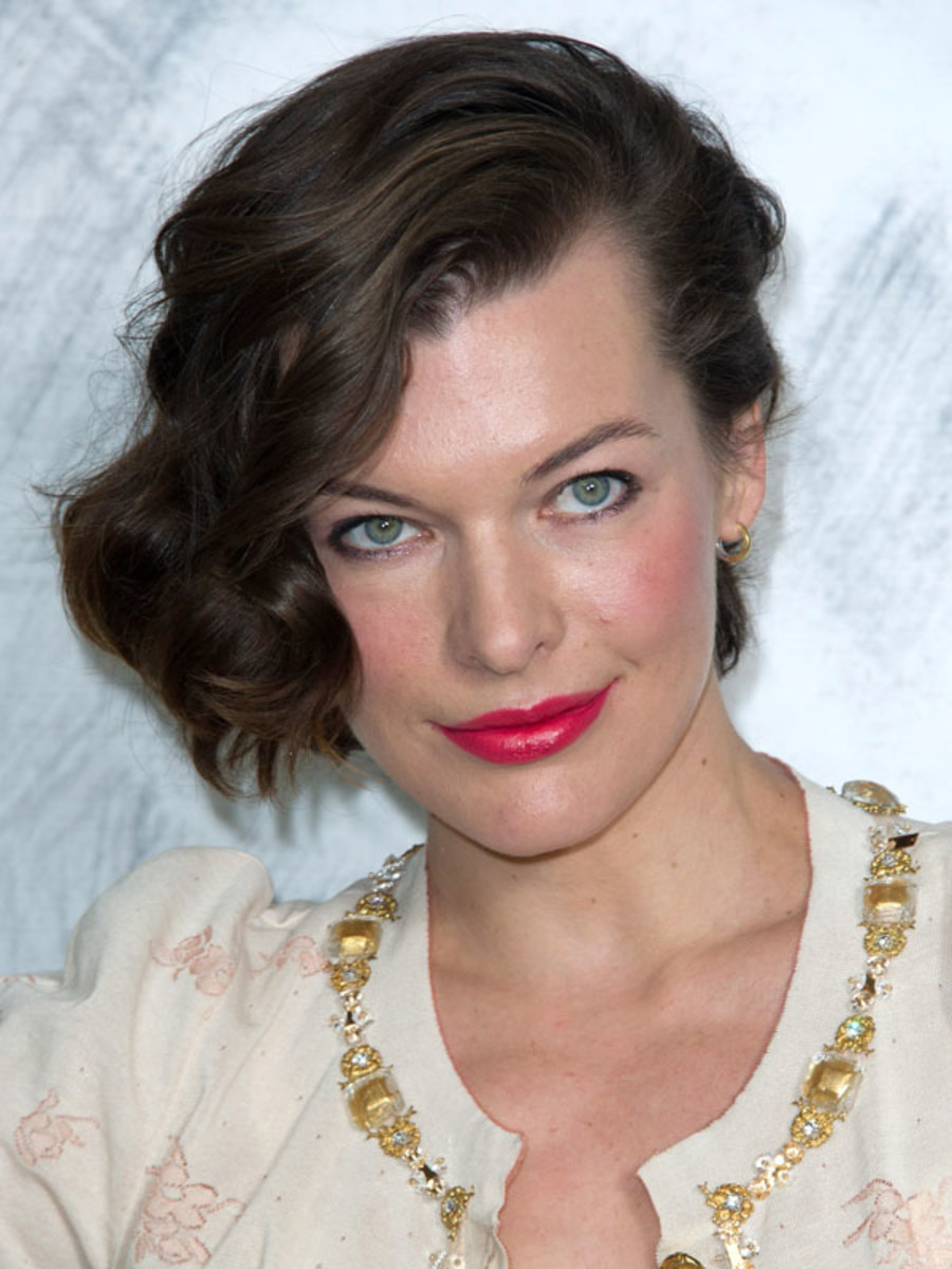 Milla Jovovich - Chanel Couture Show - July 2012