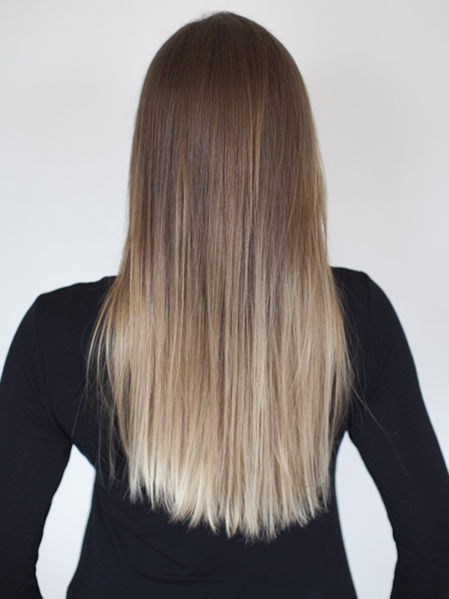 How to get ombr hair at home with loral beautyeditor loreal paris feria wild ombre review back solutioingenieria Image collections