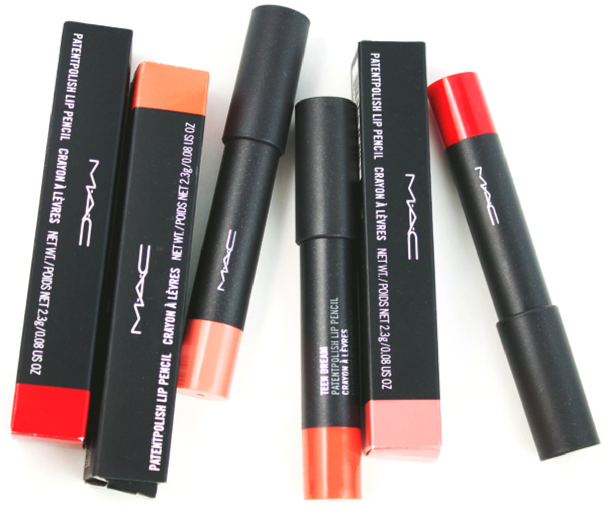 MAC Patentpolish Lip Pencils (1)