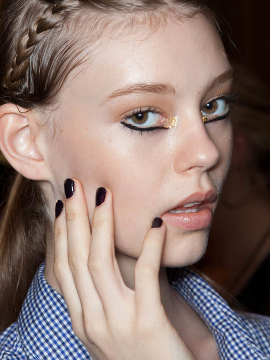Marchesa - Spring 2013 nails