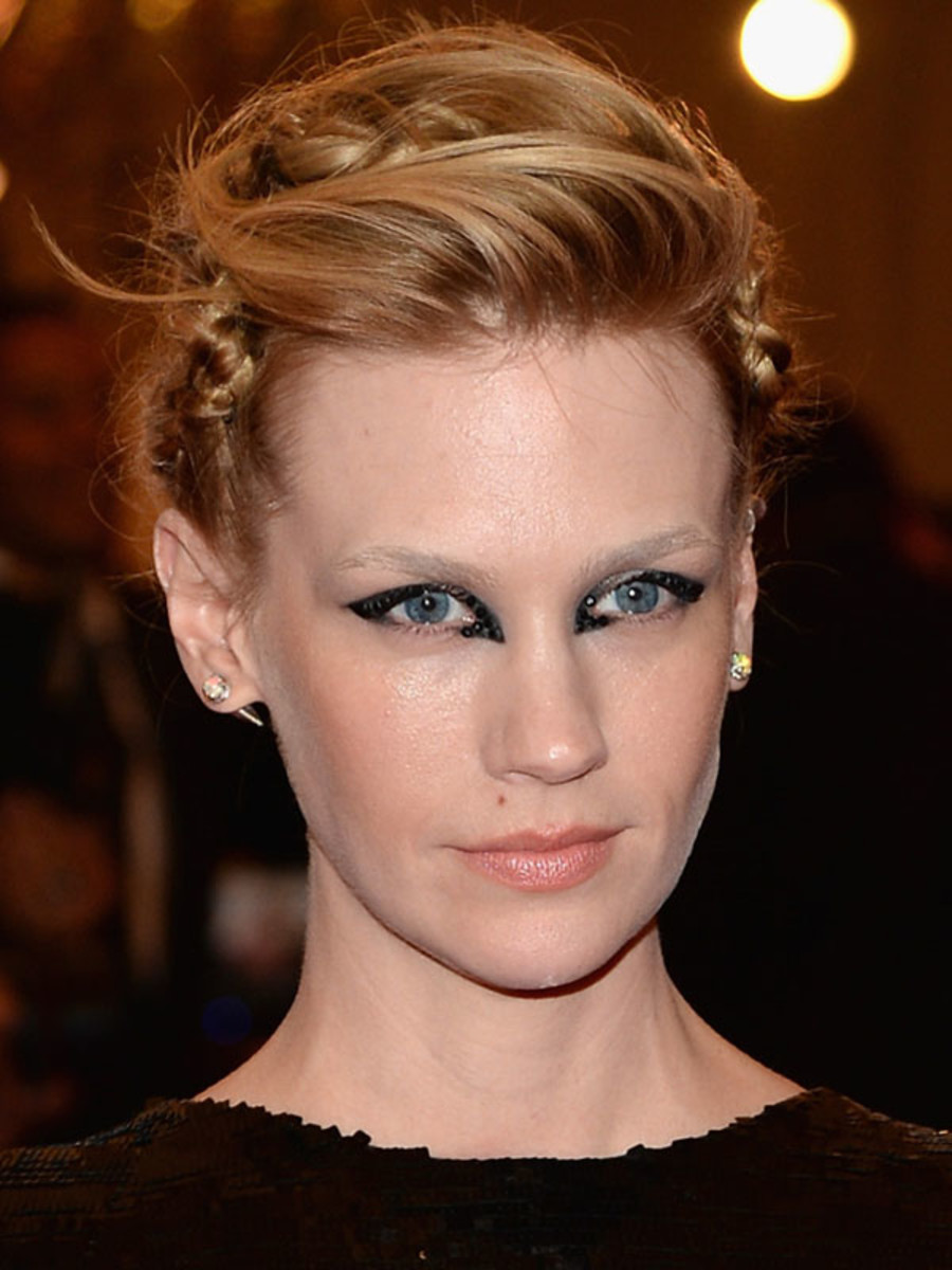January Jones - Met Ball 2013 makeup