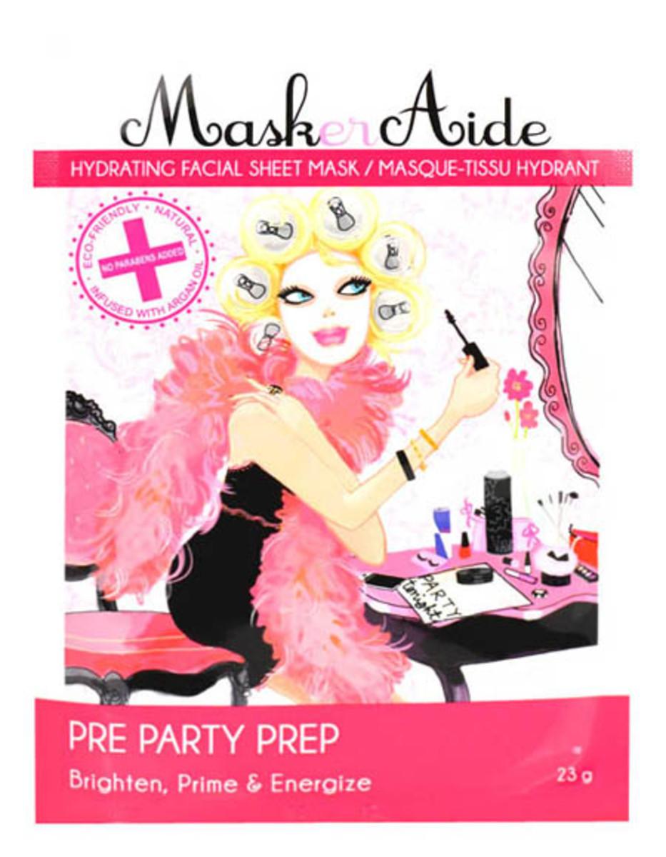 MaskerAide Pre Party Prep Sheet Mask