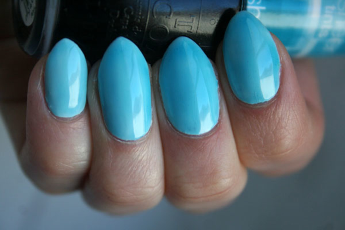 OPI Sheer Tints I Can Teal You Like Me