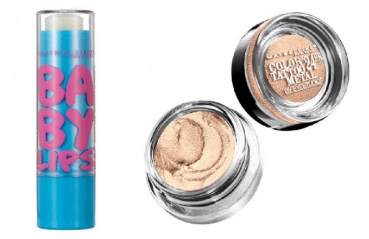 Maybelline New York Baby Lips and Color Tattoo 24Hr Eyeshadow