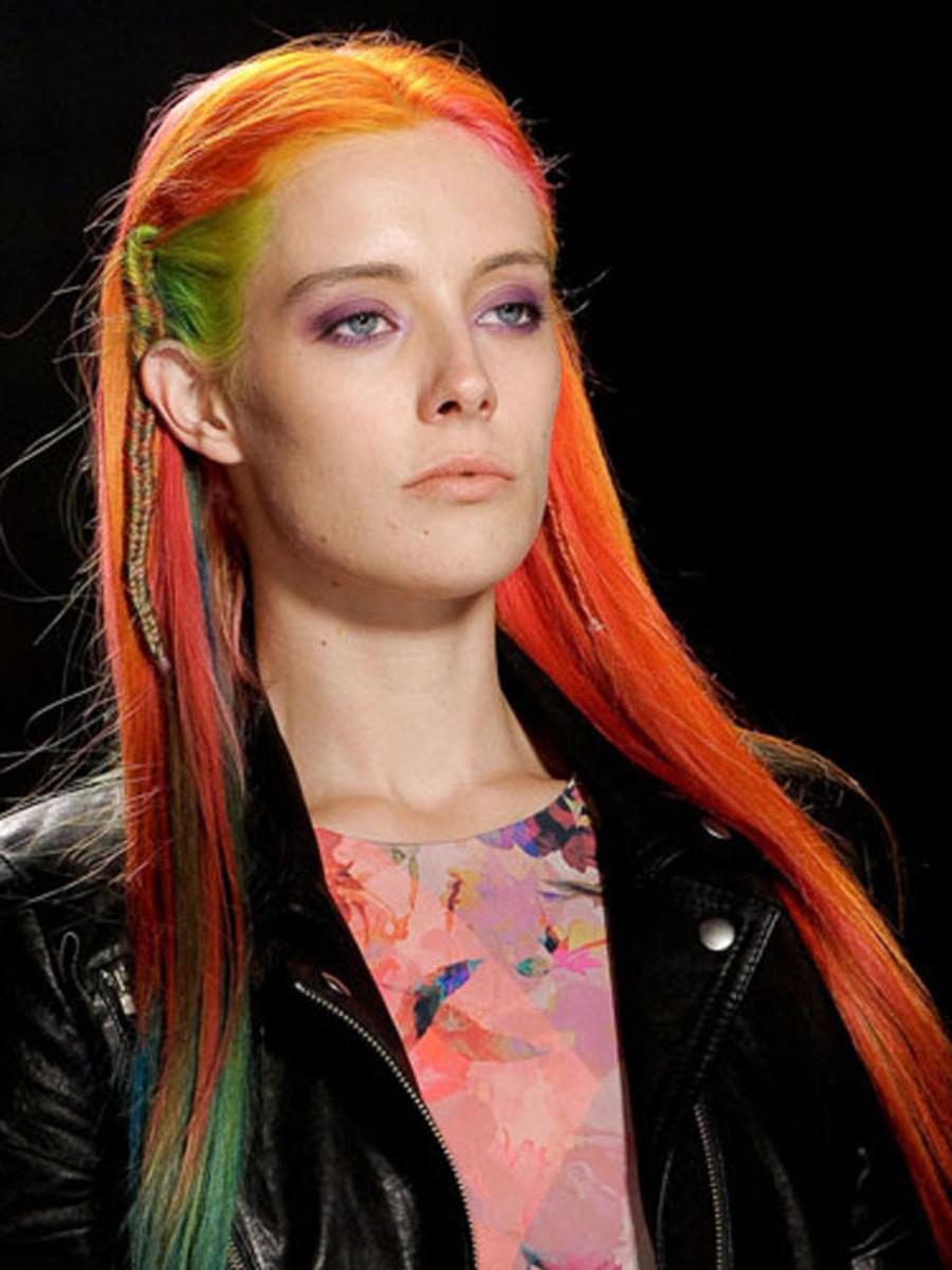 Nicole Miller - Spring 2013 hair