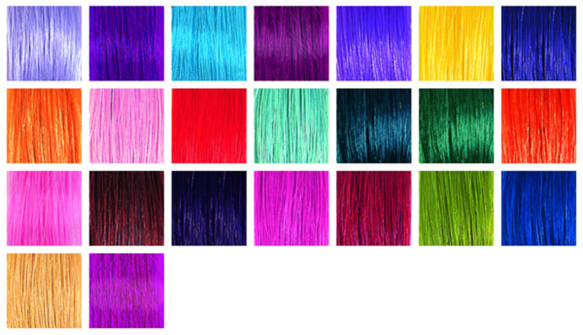 SO.CAP Fantasy Colour Hair Extensions