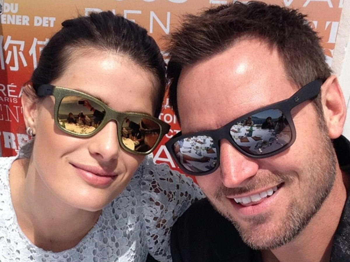 Tom Bachik and Isabeli Fontana