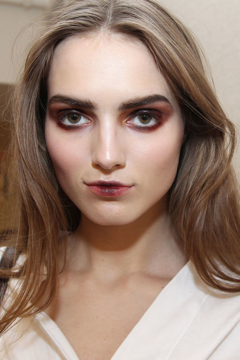 Oscar de la Renta Fall 2013 makeup