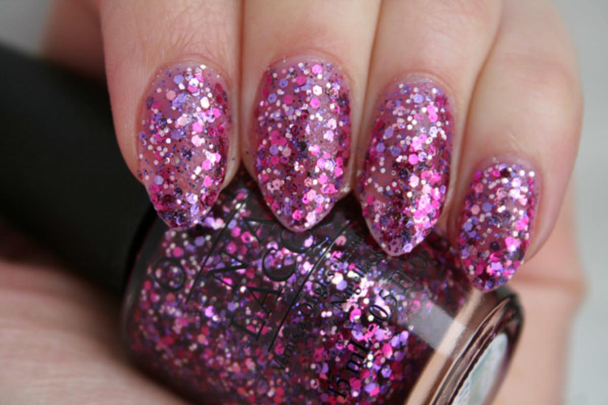OPI Spotlight on Glitter - Blush Hour