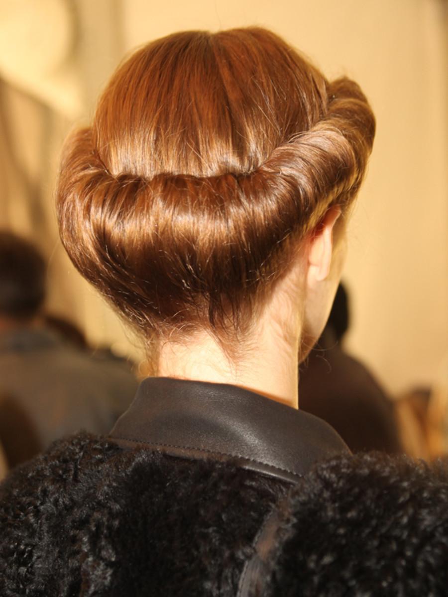 Carolina Herrera - Fall 2013 hair