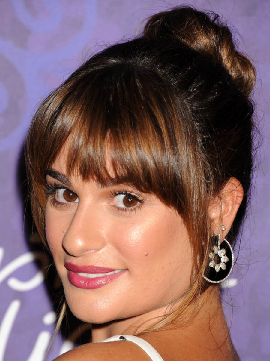 Lea Michele, Variety and Women in Film Emmy Nominee Celebration, 2014