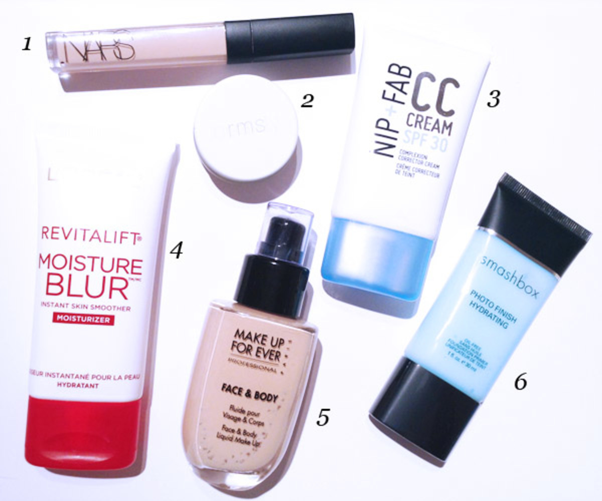 Best winter makeup products (skin)