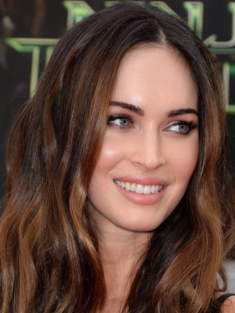 Megan Fox makeup, Teenage Mutant Ninja Turtles premiere, 2014 (5)
