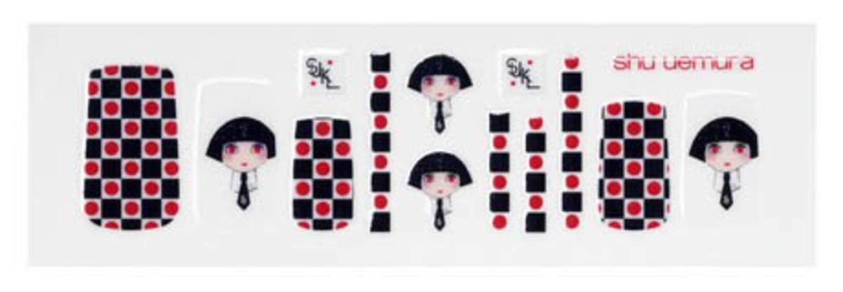 Karl Lagerfeld for Shu Uemura Nail Stickers
