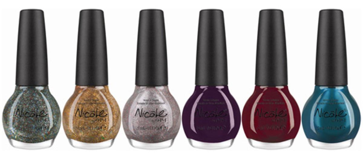 Nicole by OPI Kardashian Kolor Holiday 2012 collection