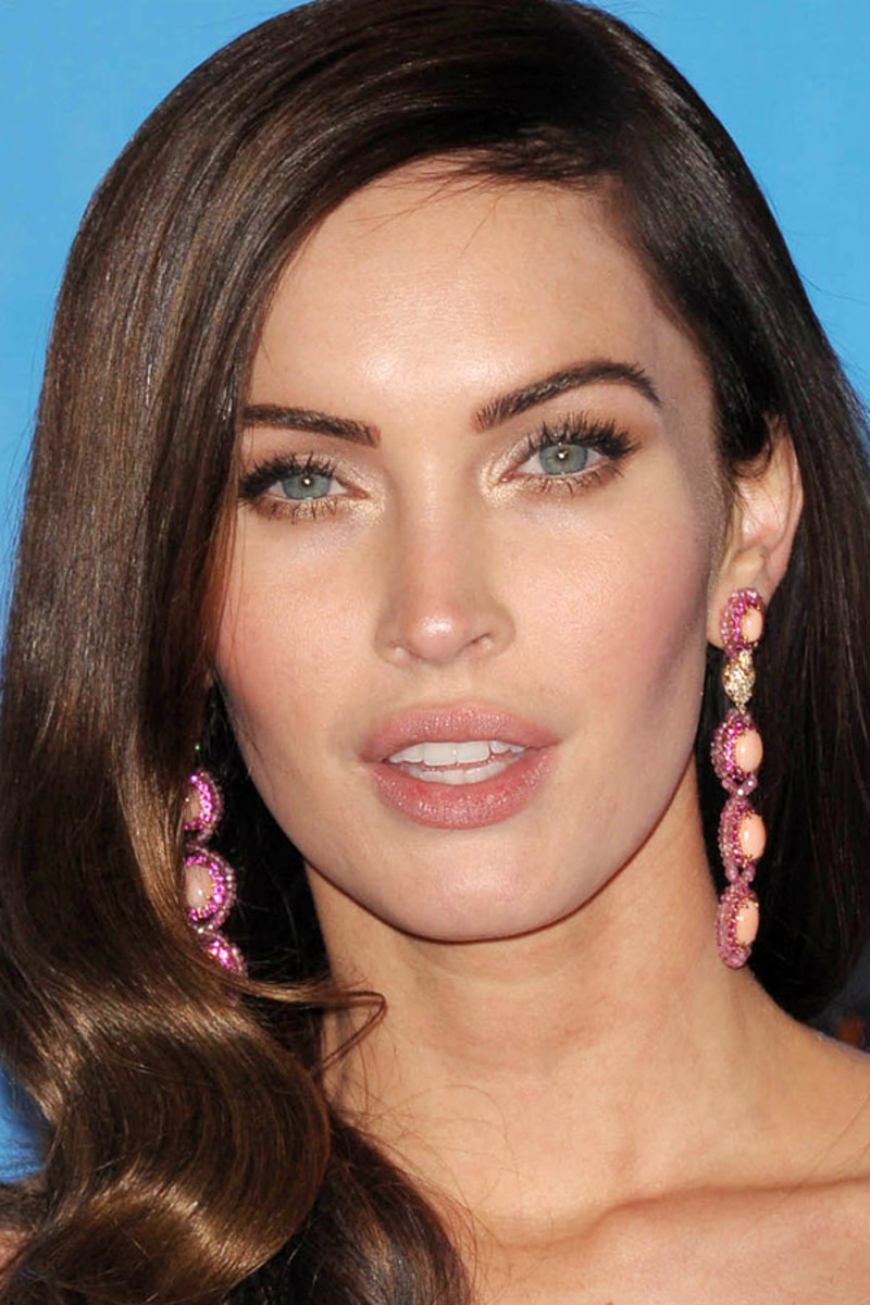 Megan Fox, Before and After - Beautyeditor Megan Fox