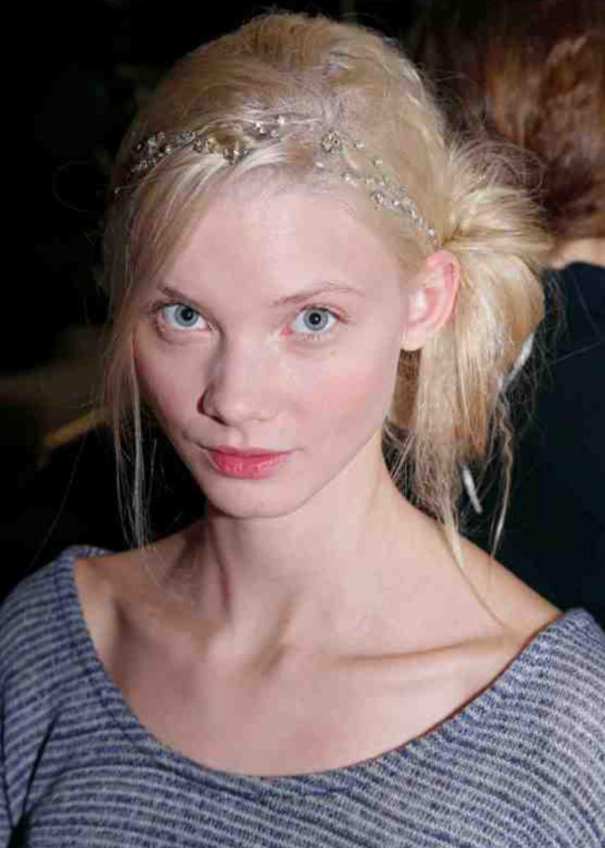 Jenny Packham - Spring 2013 bridal hair