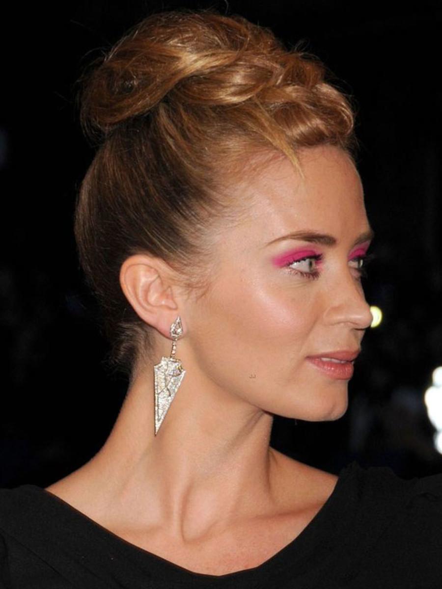 Emily Blunt - Met Ball 2013 makeup