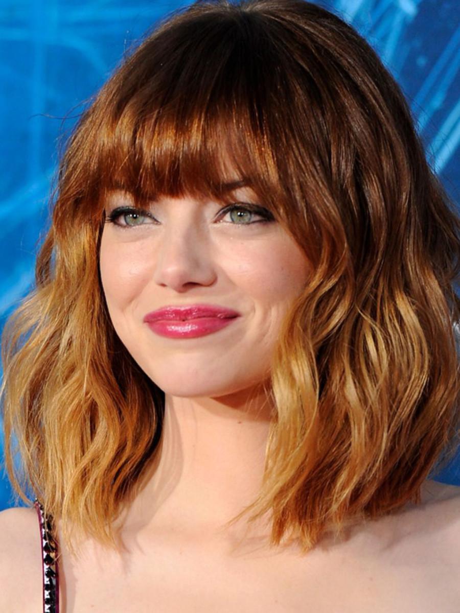 Emma Stone, The Amazing Spider-Man 2 premiere, LA, 2014 (2)