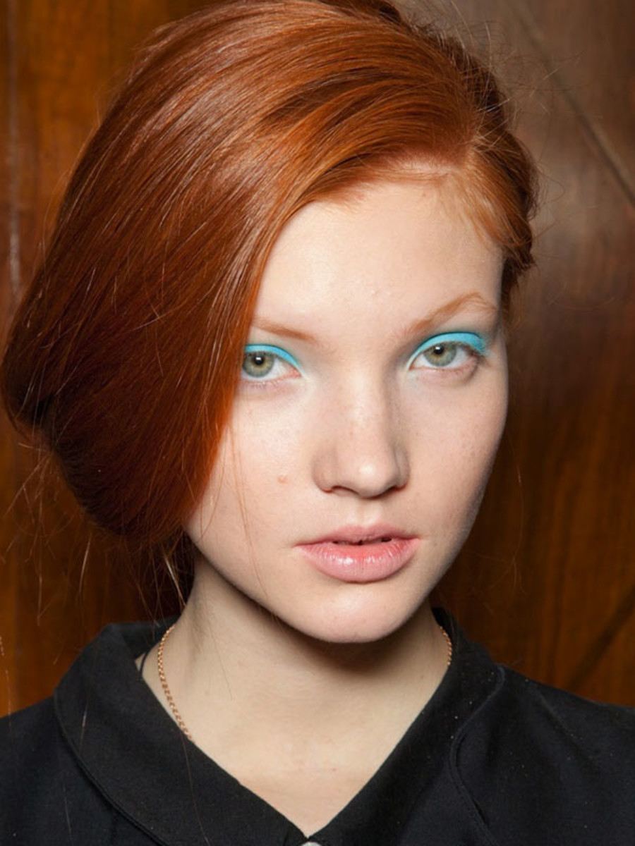 Clements Ribeiro - Spring 2013 beauty
