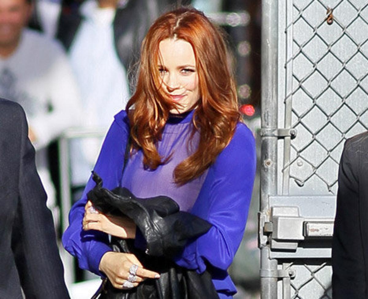 Rachel McAdams red hair
