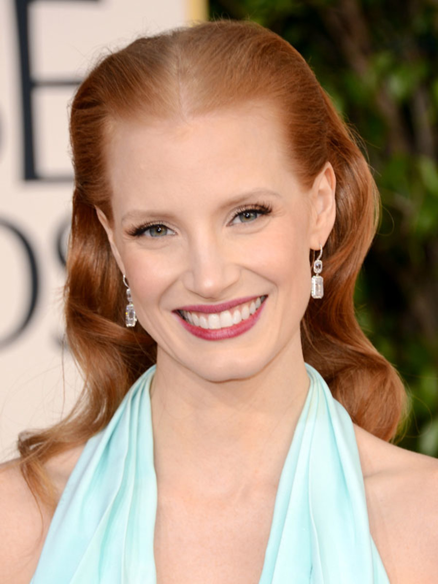 Jessica Chastain - Golden Globes 2013