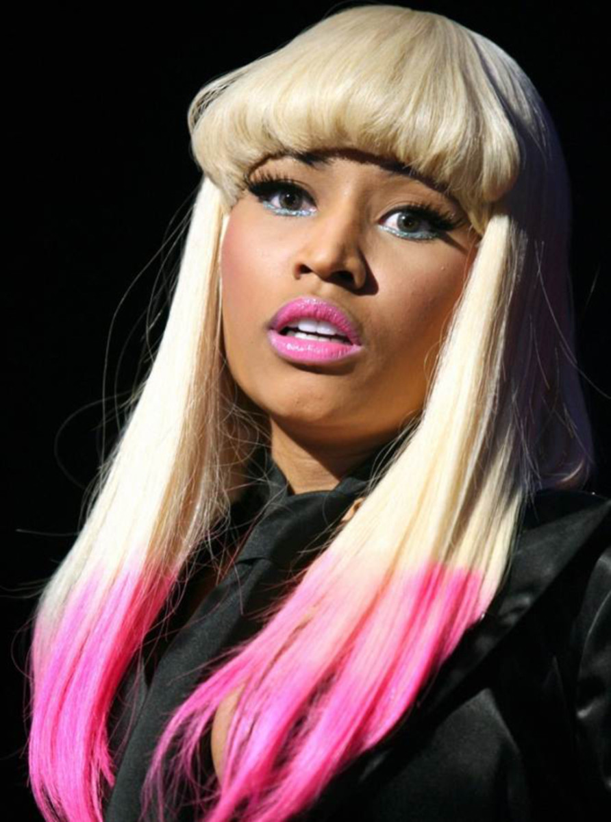 Nicki Minaj - pink hair