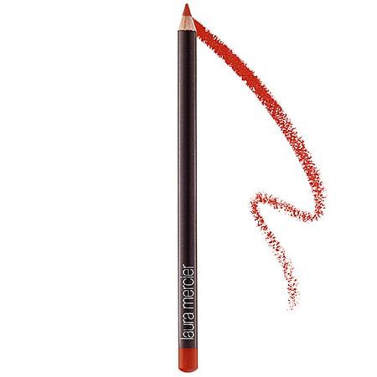 Laura Mercier Lip Pencil in Warm Poppy